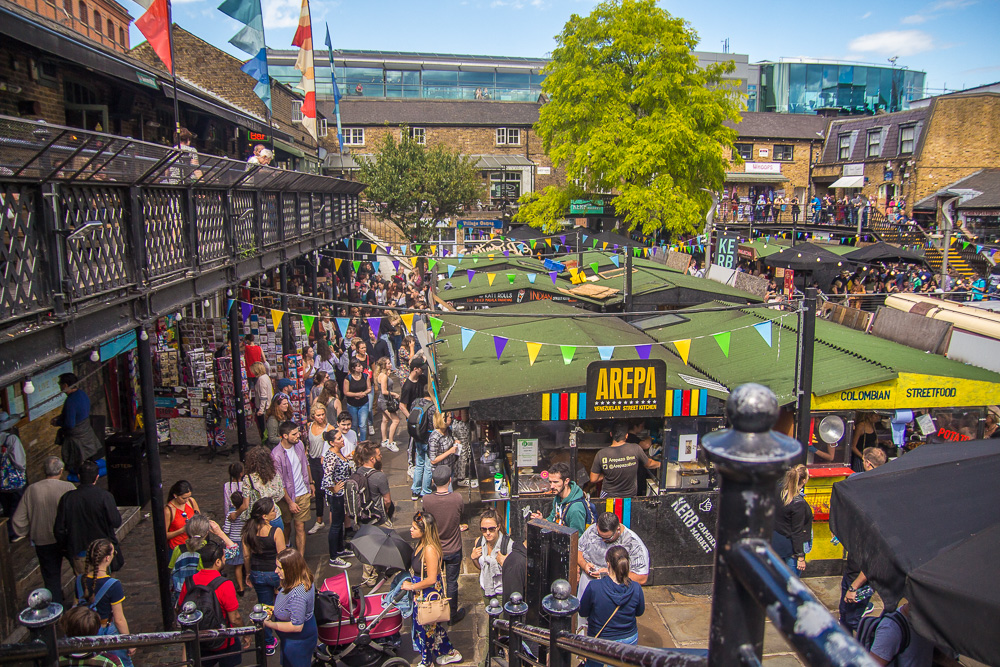 food market-camden market-summer