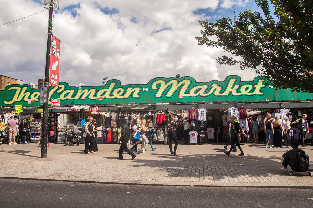 food market-the camden market-summer